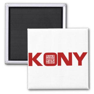 Kony 2012 Video Red QR Code Joseph Kony Magnet