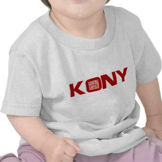 Kony 2012 Video Red QR Code Joseph Kony Shirt