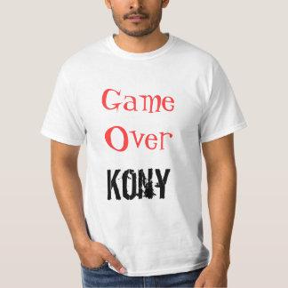 Kony Game Over Kony T-shirt
