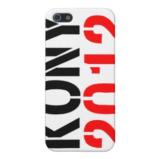 KONY i 2012 iPhone 5 Cobertura