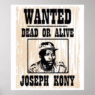 Kony José 2012 Kony quiso el poster