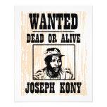 """Kony José 2012 Kony quiso el poster Folleto 4.5"""" X 5.6"""""""