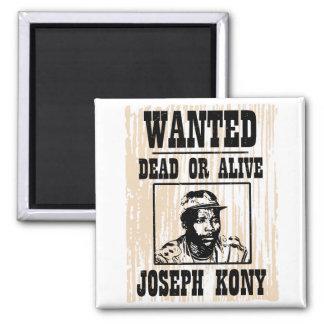 Kony José 2012 Kony quiso el poster Imán Para Frigorífico