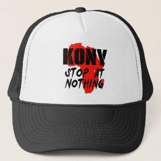 Kony Stop At Nothing Trucker Hat