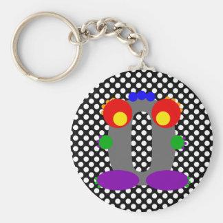 Kooblee 0 basic round button keychain