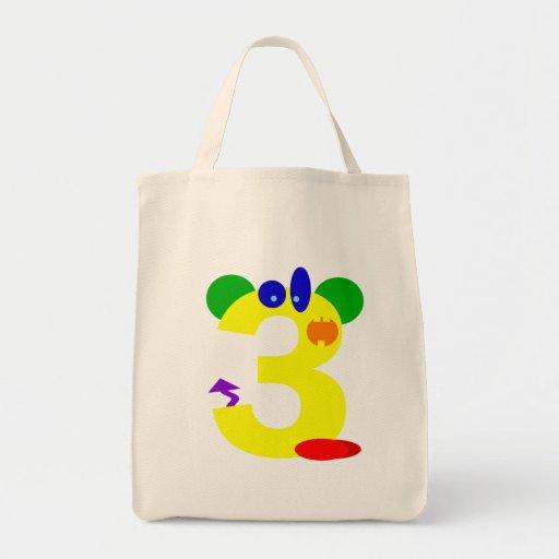 Kooblee 3 grocery tote bag