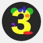 Kooblee 3 round sticker
