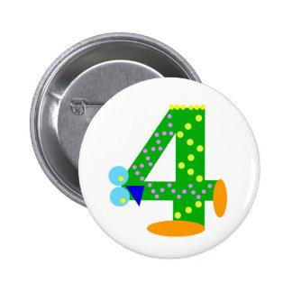 Kooblee 4 pinback button