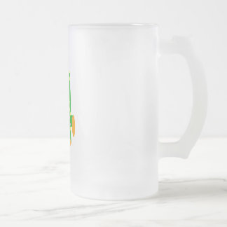 Kooblee 4 16 oz frosted glass beer mug