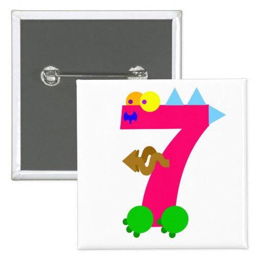 Kooblee 7 2 inch square button