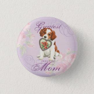 Kooiker Heart Mom Pinback Button