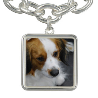 Kooikerhondje Dog Charm Bracelet