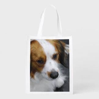 Kooikerhondje Dog Reusable Grocery Bag