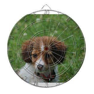 Kooikerhondje puppy wet head.png dart boards