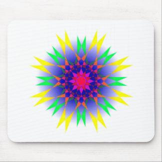 Kook Art Wake Up Abstract Art Mouse Pad