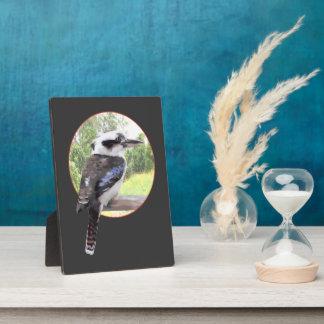 Kookaburra Bird on a Branch Plaque