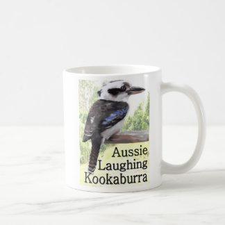Kookaburra de risa australiano taza