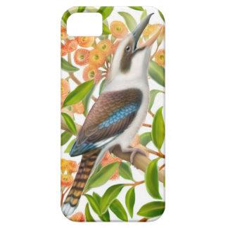 Kookaburra de risa en caso del iPhone del árbol de iPhone 5 Funda