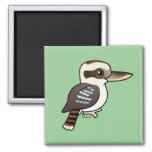 Kookaburra de risa iman de frigorífico