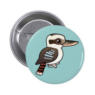 Kookaburra de risa pin