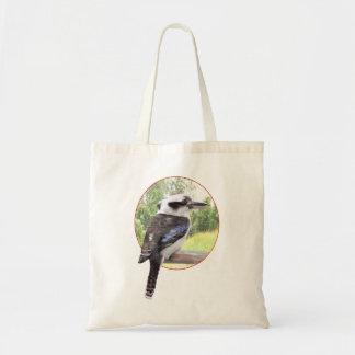 Kookaburra en círculo bolsa