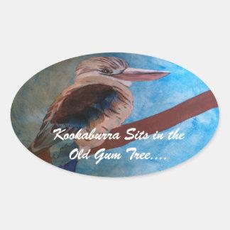 """Kookaburra"" stickers"
