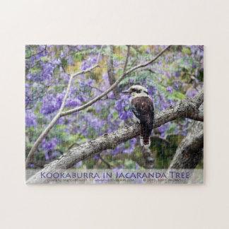 Kookaburra y Jacaranda Rompecabezas