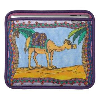 Kooky Camel iPad Sleeve rickshawsleeve