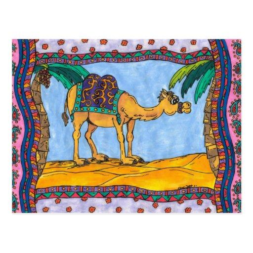 Kooky Camel Postcard