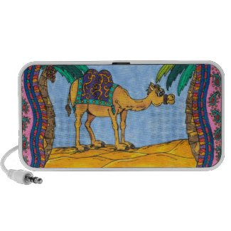 Kooky Camel speakers doodle