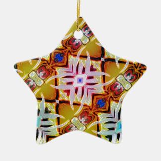 Kooky Eyes Ceramic Ornament