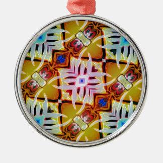 Kooky Eyes Metal Ornament