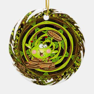 Kooky Frog Ornament