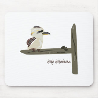 Kooky Kookaburra Mouse Pad
