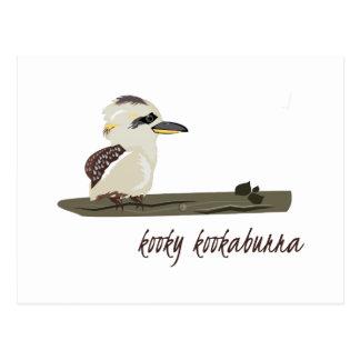 Kooky Kookaburra Postcard