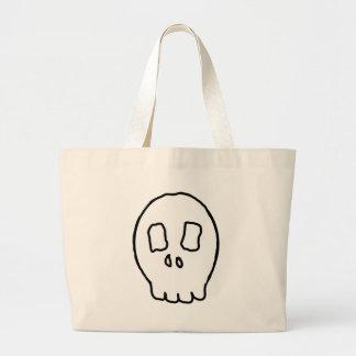 Kooky Skull Canvas Bag
