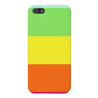 Kool Aid Cool Down Color Stripes iPhone 4 Case
