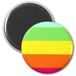 Kool Aid Cool Down Color Stripes Magnet