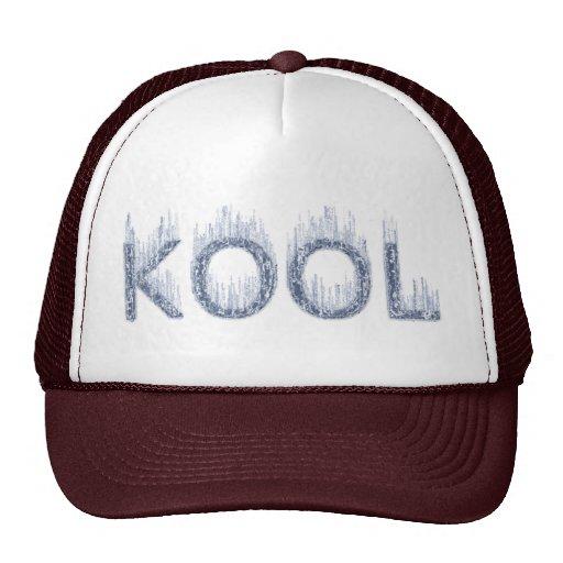 Kool - diseño helado gorras de camionero