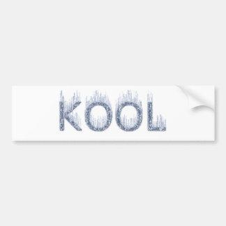 Kool - Ice Cold Design Bumper Sticker