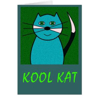 Kool Kat Card