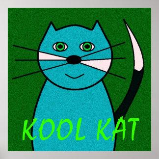 Kool Kat Poster