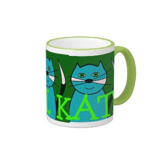 Kool Kat Ringer Mug