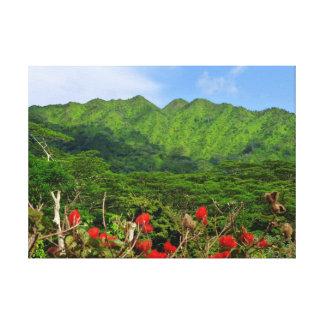 Koolau Mountains Canvas Prints