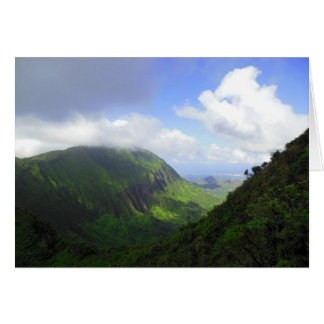 Koolau Mountains Card
