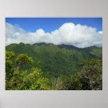 Koolau Mountains Poster
