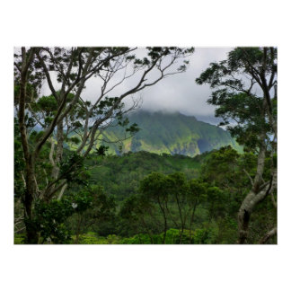 Koolau Mountains Poster