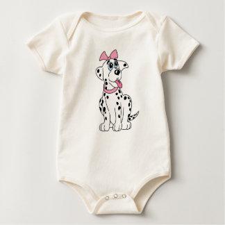 KoolKidZnCo Cute Dalmatian Infant Baby Bodysuit