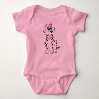 KoolKidZnCo Cute Dalmatian Infant Creeper
