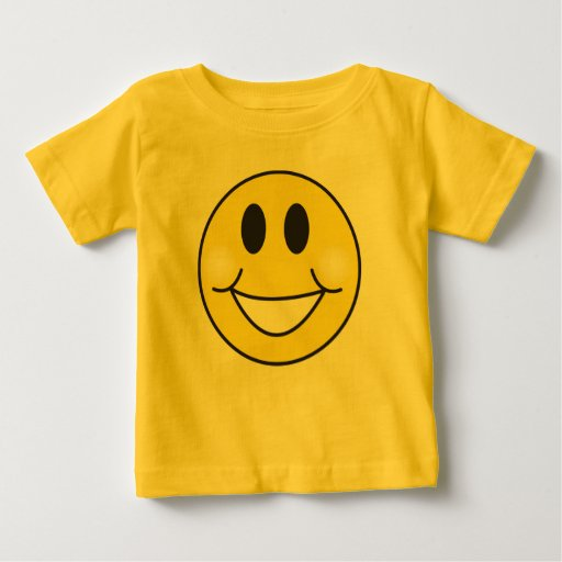 KoolKidZnCo Cute Happy Face Toddler T Shirt